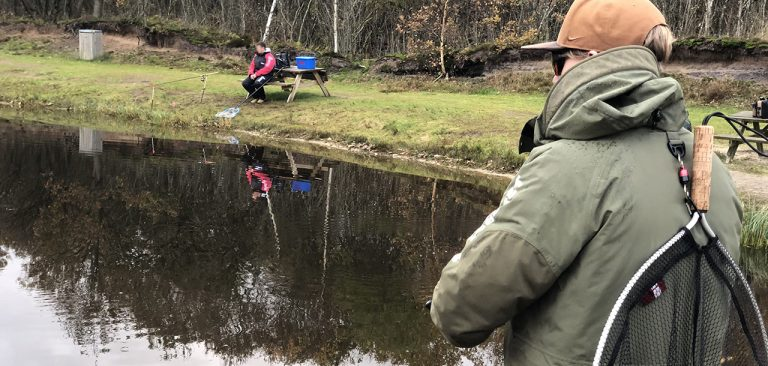 Oxriver put and take fiskesø