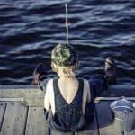 Når lystfiskeren har fødselsdag